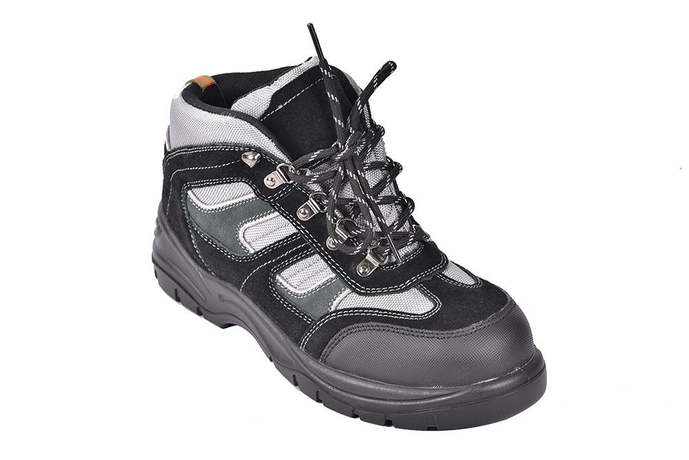 从鞋面材质区分安全鞋质量的方法